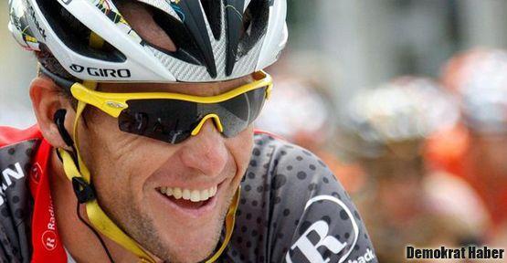 Lance Armstrong'a jet hızıyla ret