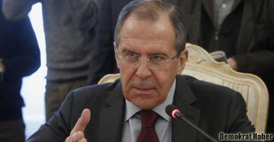 Lavrov: Bize kanıt diye harita gösterdiler