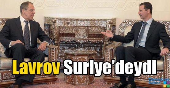 Lavrov Suriye'deydi