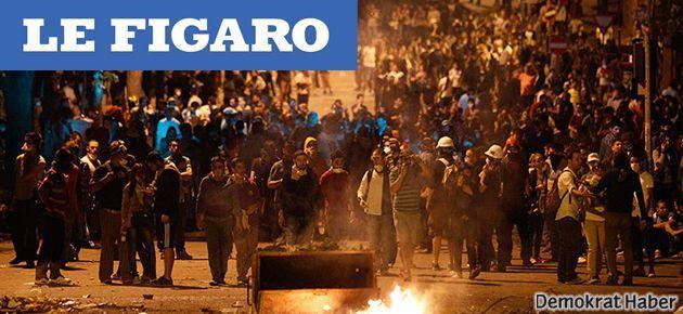 Le Figaro: AA Taksim'i görmüyor, Mısır'ı canlı veriyor