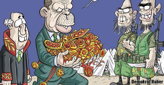 Leman, Erdoğan'a apolet taktırdı