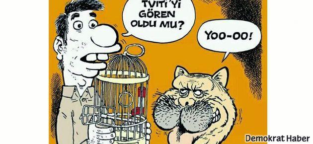 LeMan, Erdoğan'ı 'kötü kedi Silvester'a benzetti