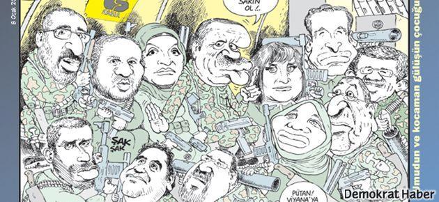 LeMan, gazetecileri Erdoğan'la buluşturdu