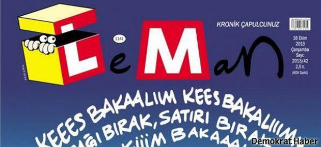 Leman'dan 'direnen kurban' kapağı