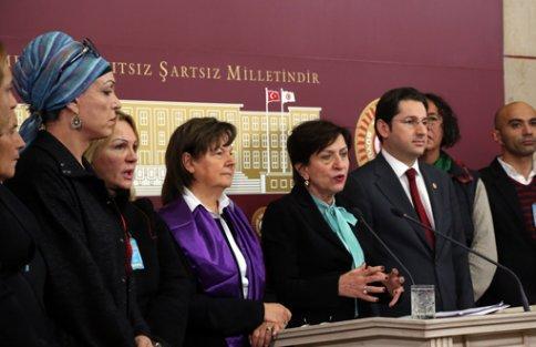 LGBTİ hakları savunucuları Meclis'teydi