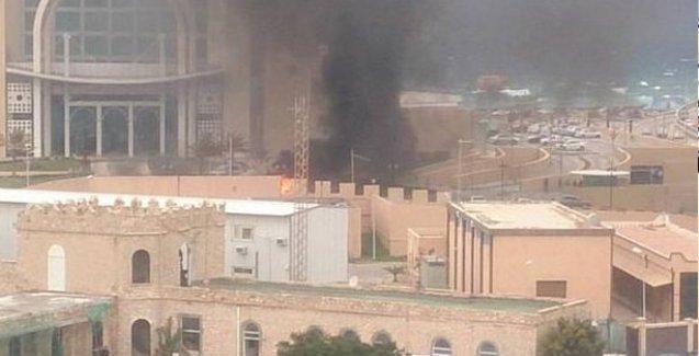 Libya'da bir otele silahlı baskın