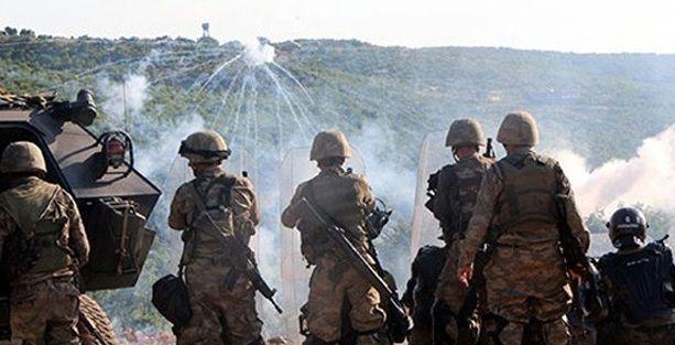 Lice'de askerlerin silahlarına el konuldu