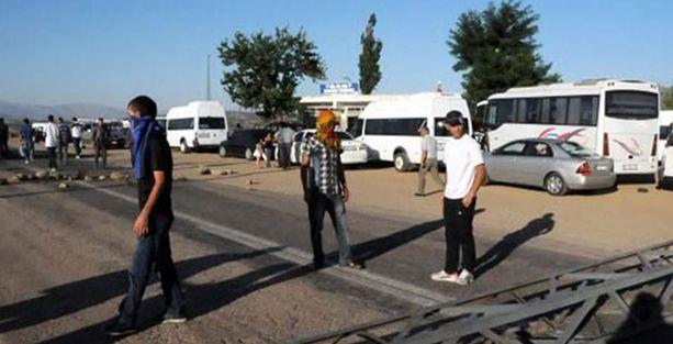 Lice'de karakol protestosu devam ediyor, yaralılar var