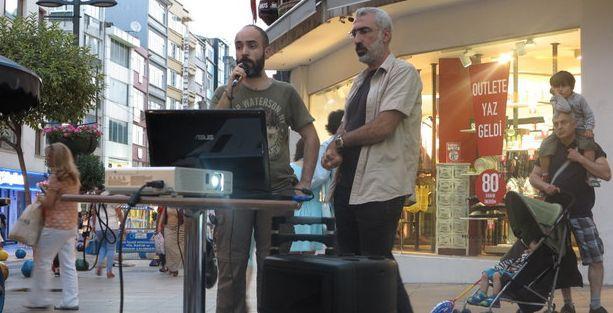'Lice'nin Feryadı' Kadıköy'de yankılandı