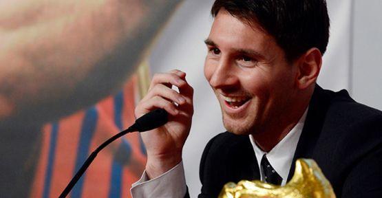 Lionel Messi'nin mütevazılığı