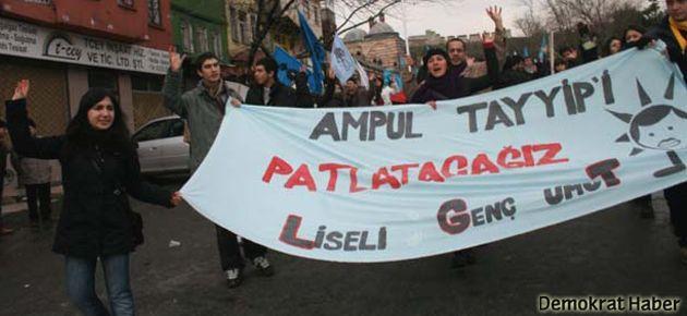 Liselilere 'Ampul Tayyip' şarkısından 235 gün hapis