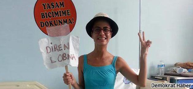 Lobna Allami'den ilk mesaj