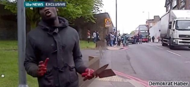 Londra'da Allahü ekberli saldırı