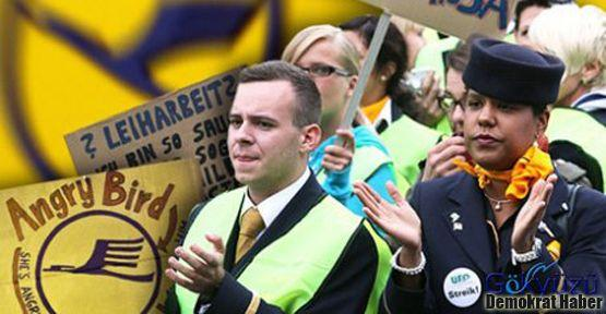 İşçiler Lufthansa'ya geri adım attırdı