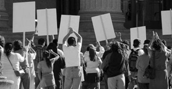 Makedonya'da zam protestosu