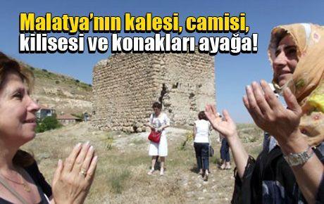 Malatya'nın kalesi, camisi, kilisesi ve konakları ayağa!