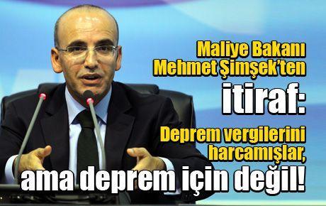 Maliye Bakanı Mehmet Şimşek'ten itiraf