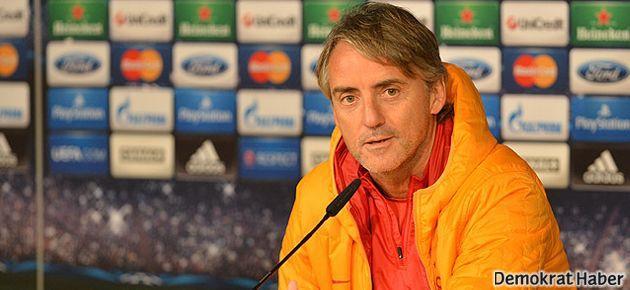 Mancini, 'veda eder gibi konuştu'