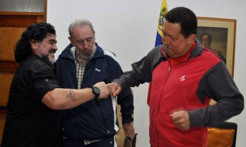 Maradona'dan Filistinlilere destek