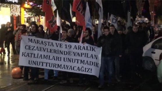 Maraş Katliamı Kadıköy'de protesto edildi