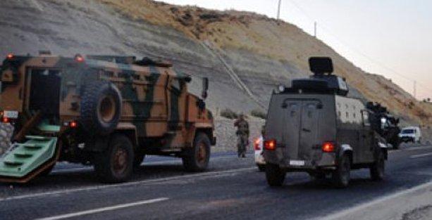 Mardin'de patlama : 6 asker yaralandı
