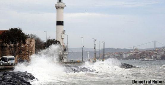 Marmara'da fırtına bekleniyor