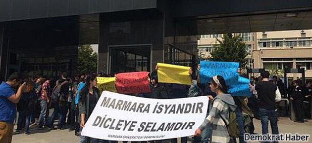 Marmara'daki 'Dicle' protestosuna saldırı