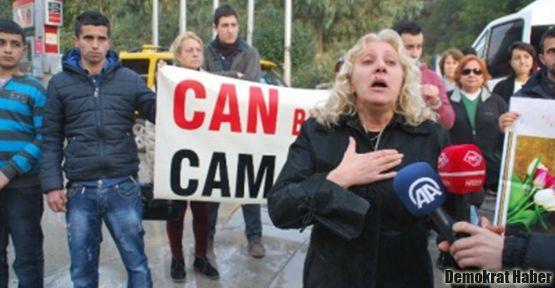 Marmaris'te Ermeni genç için eylem