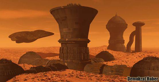 Mars'a koloni kurma hazırlığı