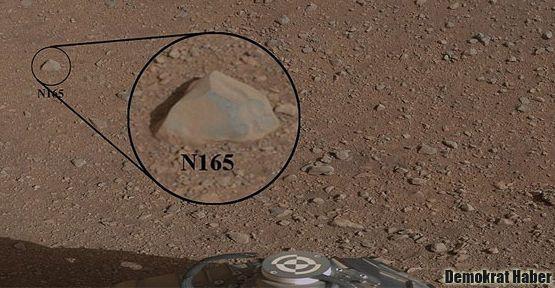Mars'ta ilk kimyasal deney