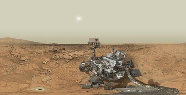 Mars'ta yaşama elverişli bir arazi bulundu iddiası