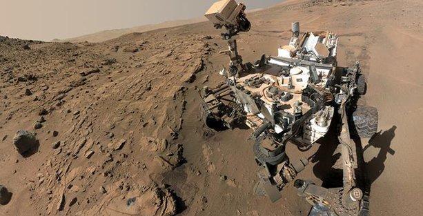 Mars'ta yeni bir yaşam izi: Metan gazı