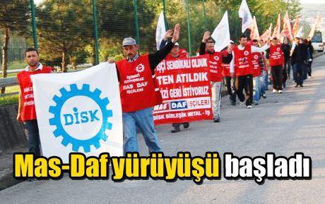 Mas-Daf yürüyüşü başladı