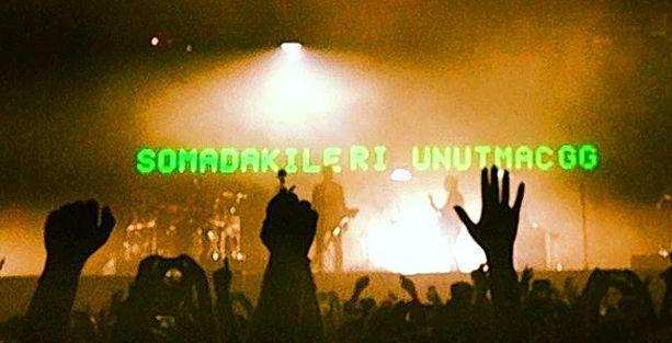 Massive Attack Soma ve Gezi'yi unutmadı