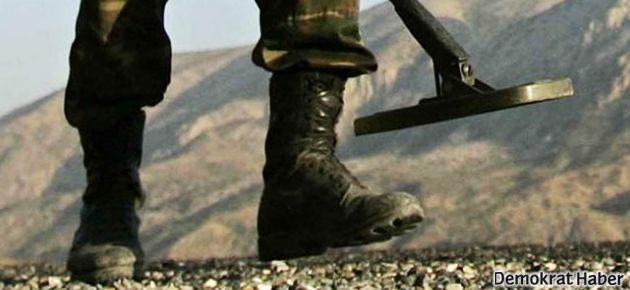 Mayın taraması yapan asker kaza sonucu öldü