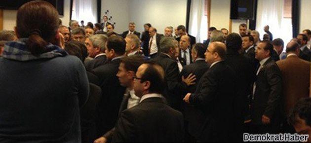 Meclis yine karıştı; Eminağaoğlu'na ikinci saldırı