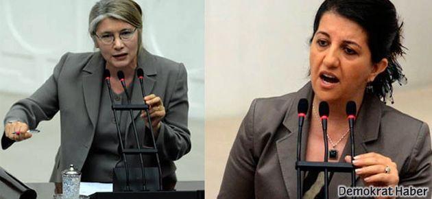 Mecliste CHP BDP atışması