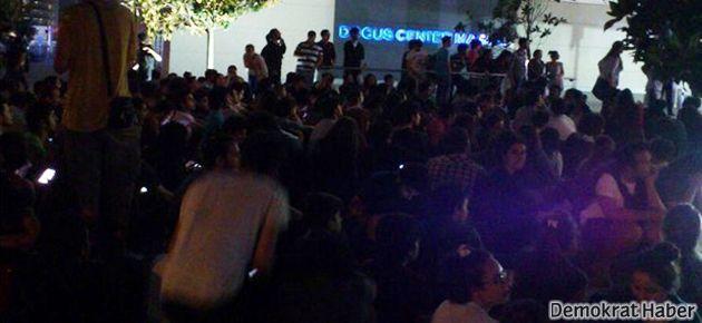 'Medyanın sessizliği' NTV önünde protesto edildi