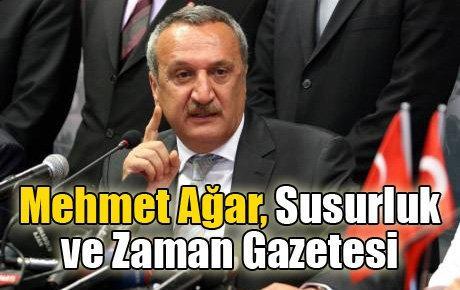 Mehmet Ağar, Susurluk ve Zaman Gazetesi