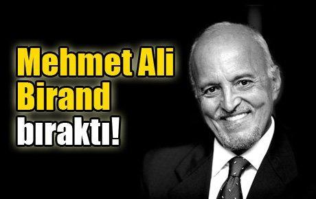 Mehmet Ali Birand, CNN Türk'teki görevini bıraktı!