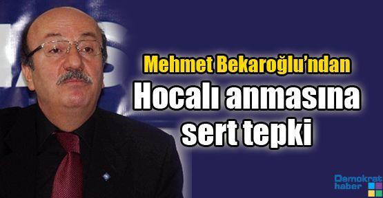 Mehmet Bekaroğlu'ndan Hocalı anmasına sert tepki