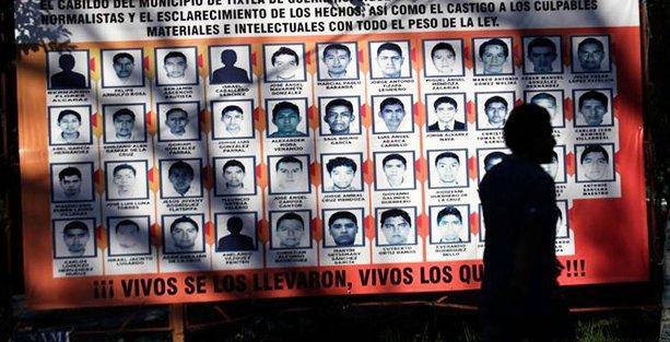 Meksika'daki kayıp öğrenciler için itiraf!