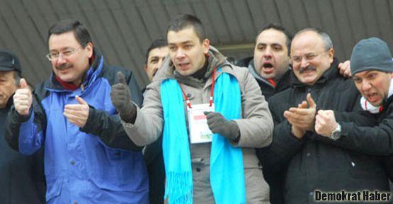 Melih Gökçek'in oğlu 37 yaşında futbolcu oldu