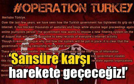 'Merhaba Türkiye, sansüre karşı harekete geçeceğiz'