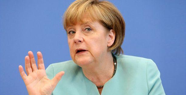 Merkel: PKK'ye silah yok