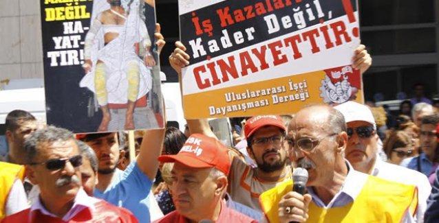 Mersin'de Soma protestosu: 'Unutmadık, unutturmayacağız!'
