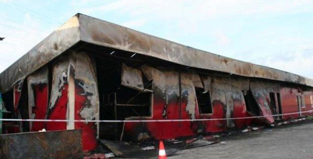 Mersin'de fabrika yatakhanesinde yangın: 3 işçi öldü