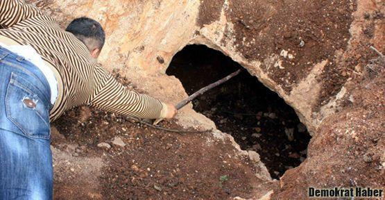 Mersin'de 'oda mezar' bulundu