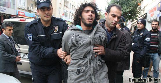 Mersin'de Patriot protestosuna polis müdahalesi