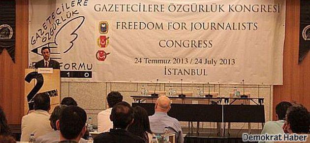 'Mesele sadece gazetecilere özgürlük değil'